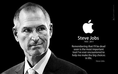 Steve Jobs RIP portrait