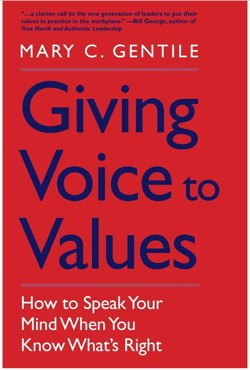 Giving Voices To Values Book Cover