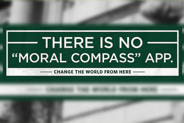 Moral Compass Banner